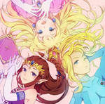 Zelda Peach and Samus