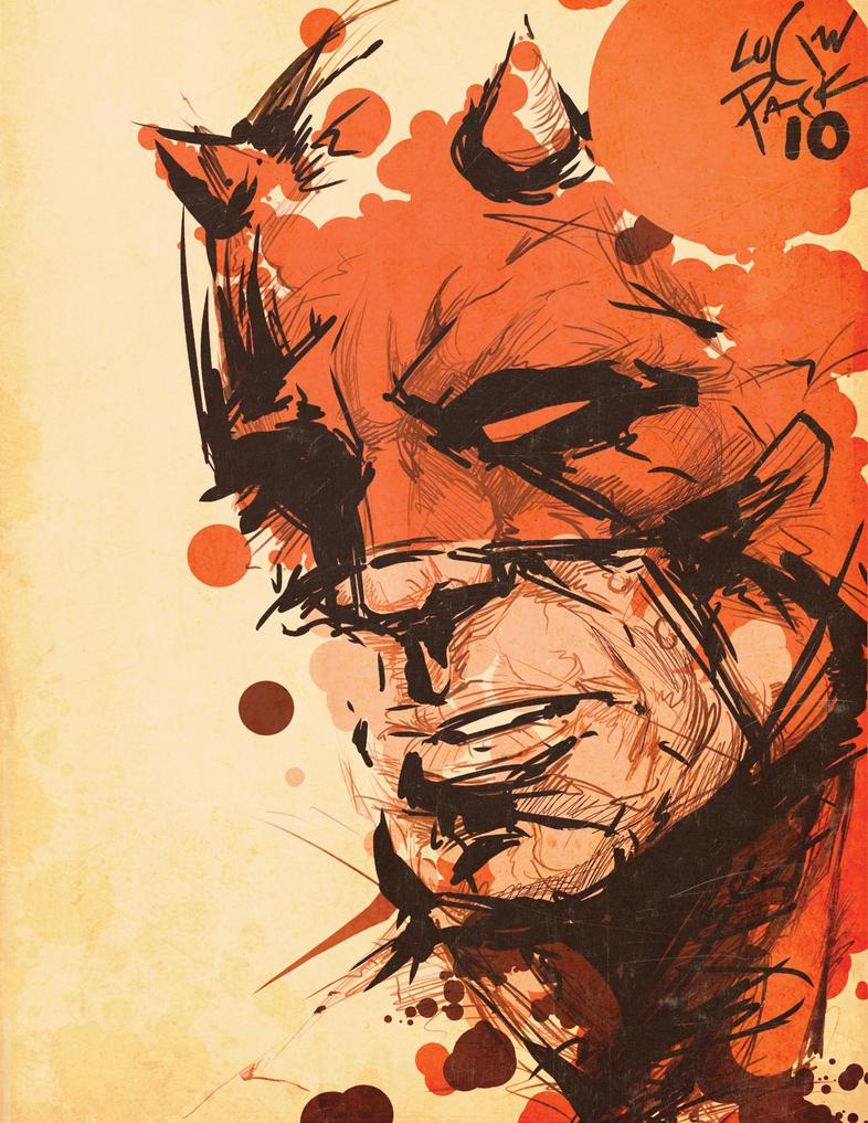 The Daredevil by cheshirecatart
