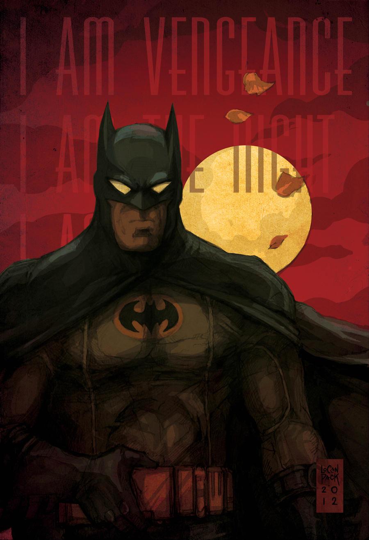 Batman re-Animated Series by cheshirecatart