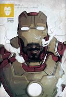 Iron Man MARK XLII - Avengers Series 1/Tony Stark by cheshirecatart