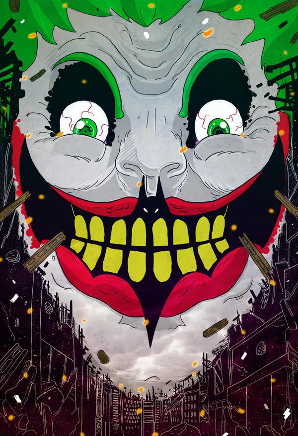 Joker by cheshirecatart