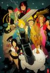 Final Fantasy 7 by cheshirecatart