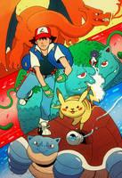 Pokemon! by cheshirecatart