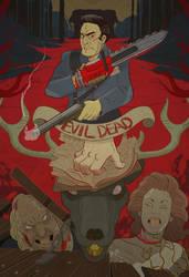 Evil Dead 2 by cheshirecatart