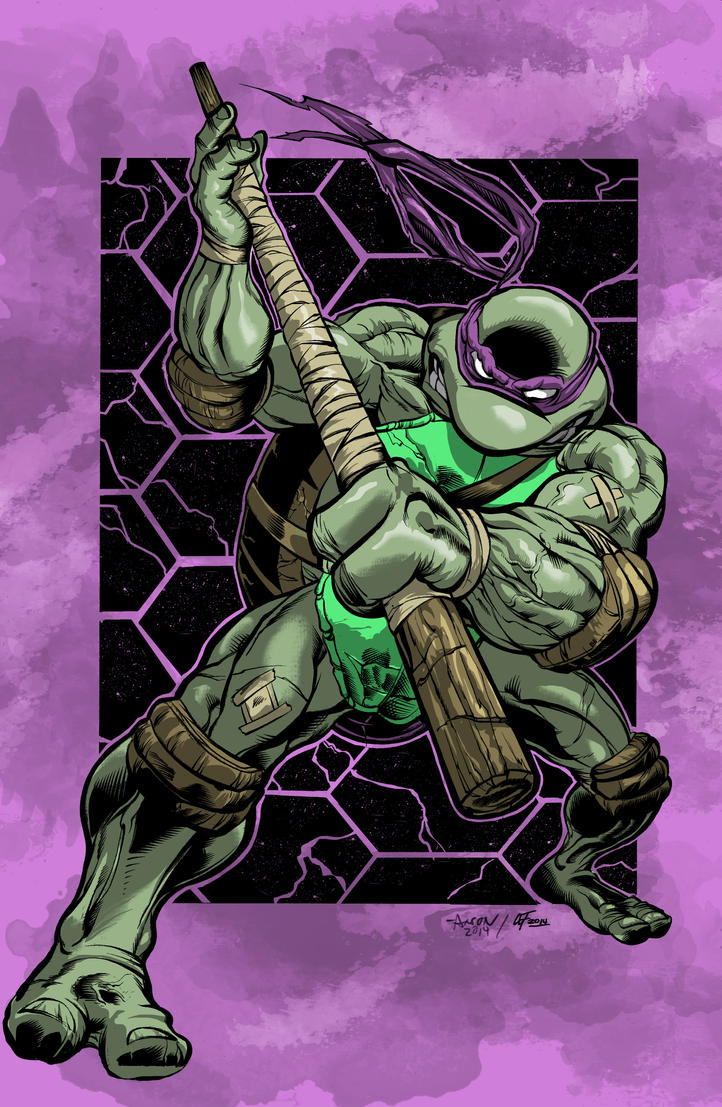 Donatello, Ninja Turtle by cartoonistaaron on DeviantArt