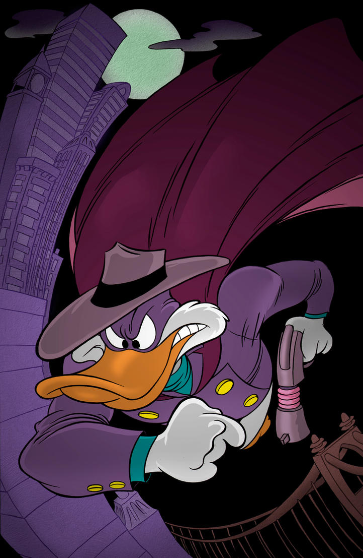 Darkwing Duck by cartoonistaaron