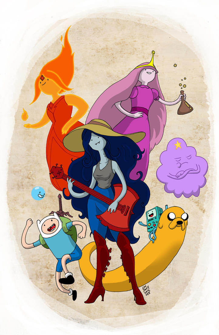Adventure Time! by cartoonistaaron