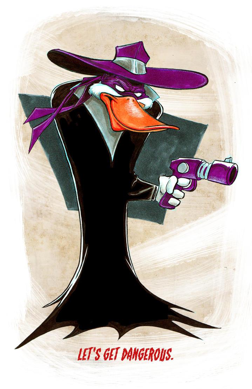 Dark Darkwing Duck by cartoonistaaron