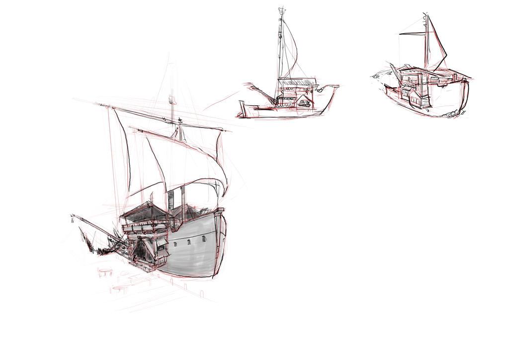 Shrimp service vessel 2 by wutangclanshirt