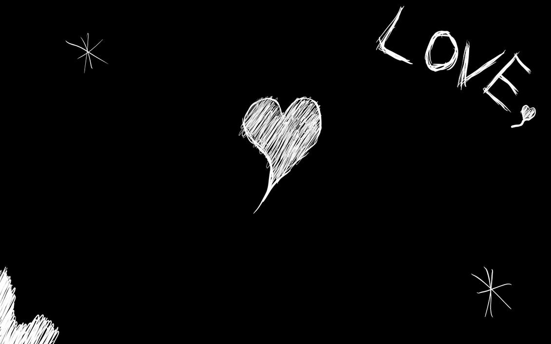 Love Wallpaper Black Background : Love background sample by inhuman1teen on DeviantArt