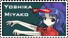 Yoshika Miyako stamp by Capolecos
