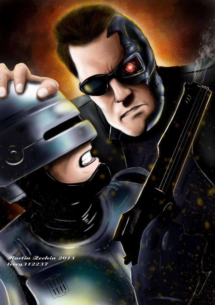 Robocop vs Terminator by terry312237 on DeviantArt