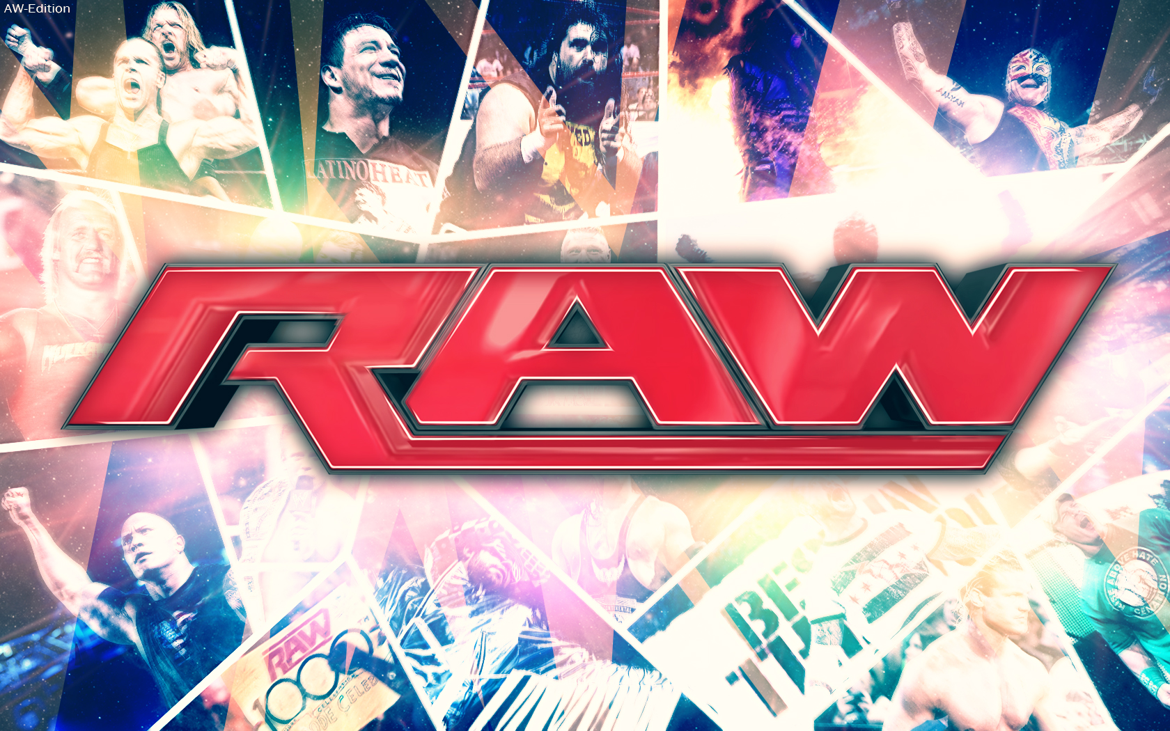 New WWE Wallpaper RAW By AW-Edition by
