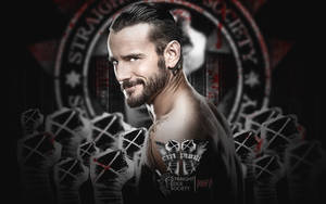 New WWE Wallpaper CM Punk By AW-Edition by AW-Edition