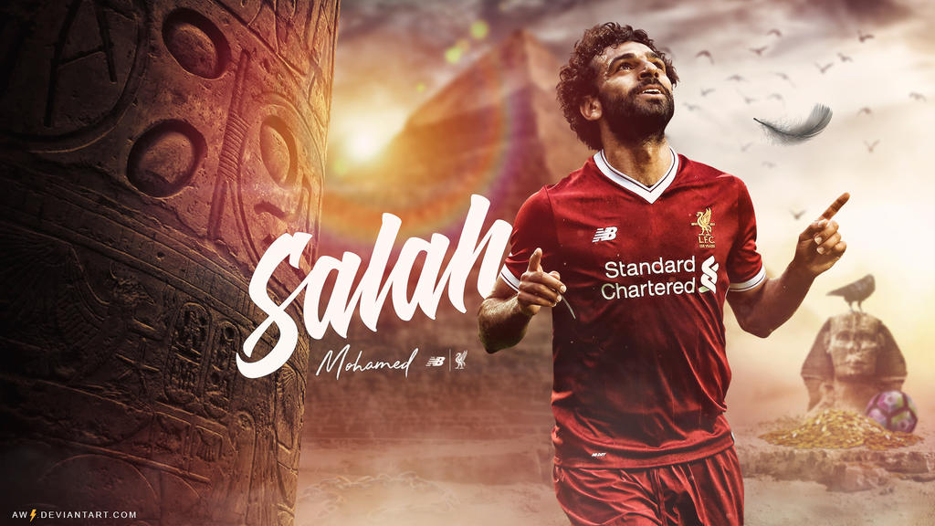 Mohamed Salah New Wallpaper (Liverpool) By AW-Edition On