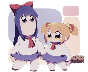 pop team epic by Apricot4