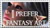 FantasyArt Stamp by Gwasanee