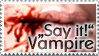 Vampire Stamp by Gwasanee