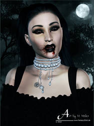 Vampyress by Gwasanee