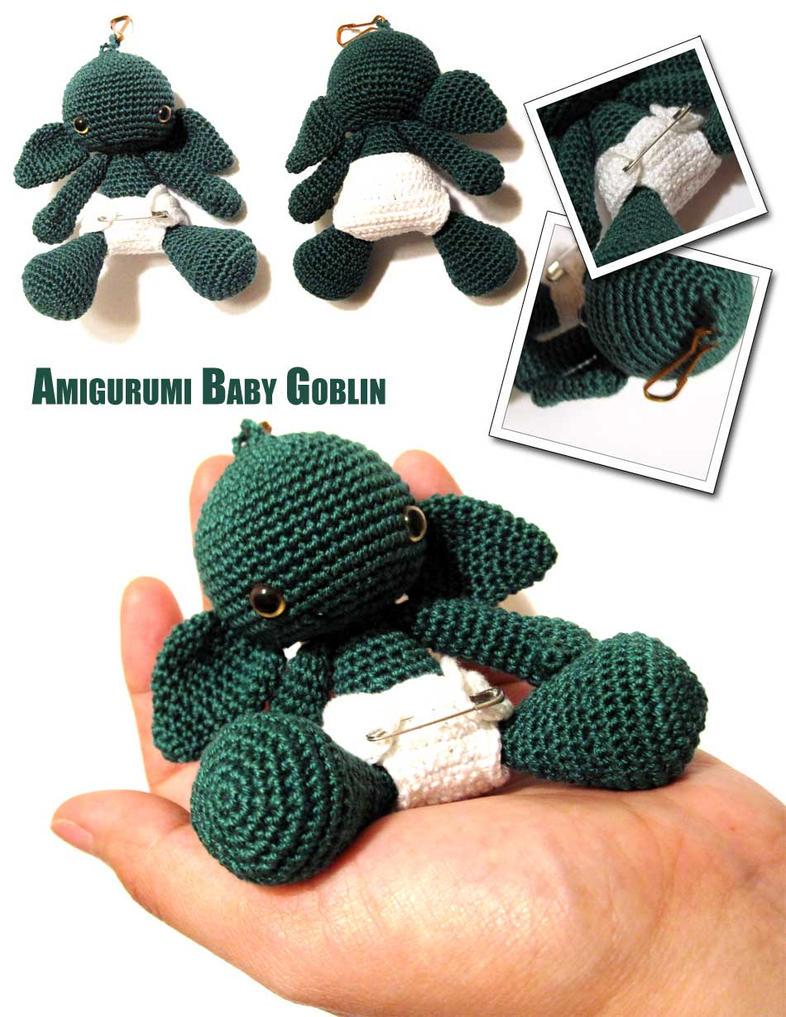 Amigurumi Baby Goblin v2 by periwinkleimp on DeviantArt