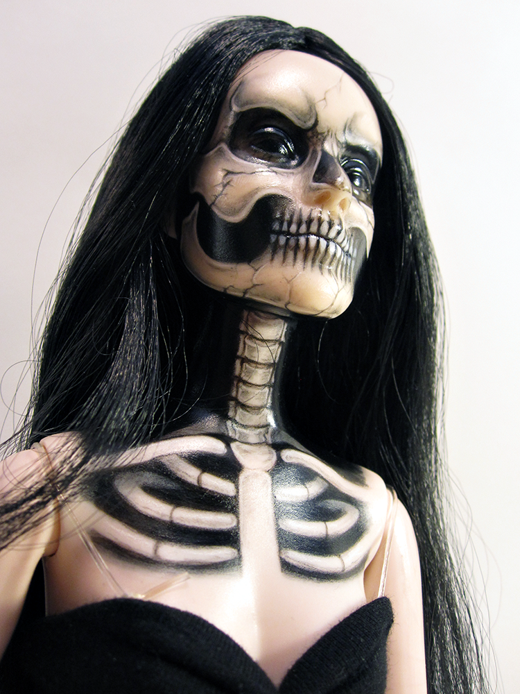 Skeleton Tonner girl by periwinkleimp