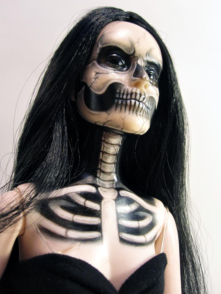 Skeleton Tonner girl by periwinkleimp