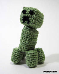 Amigurumi Creeper by periwinkleimp