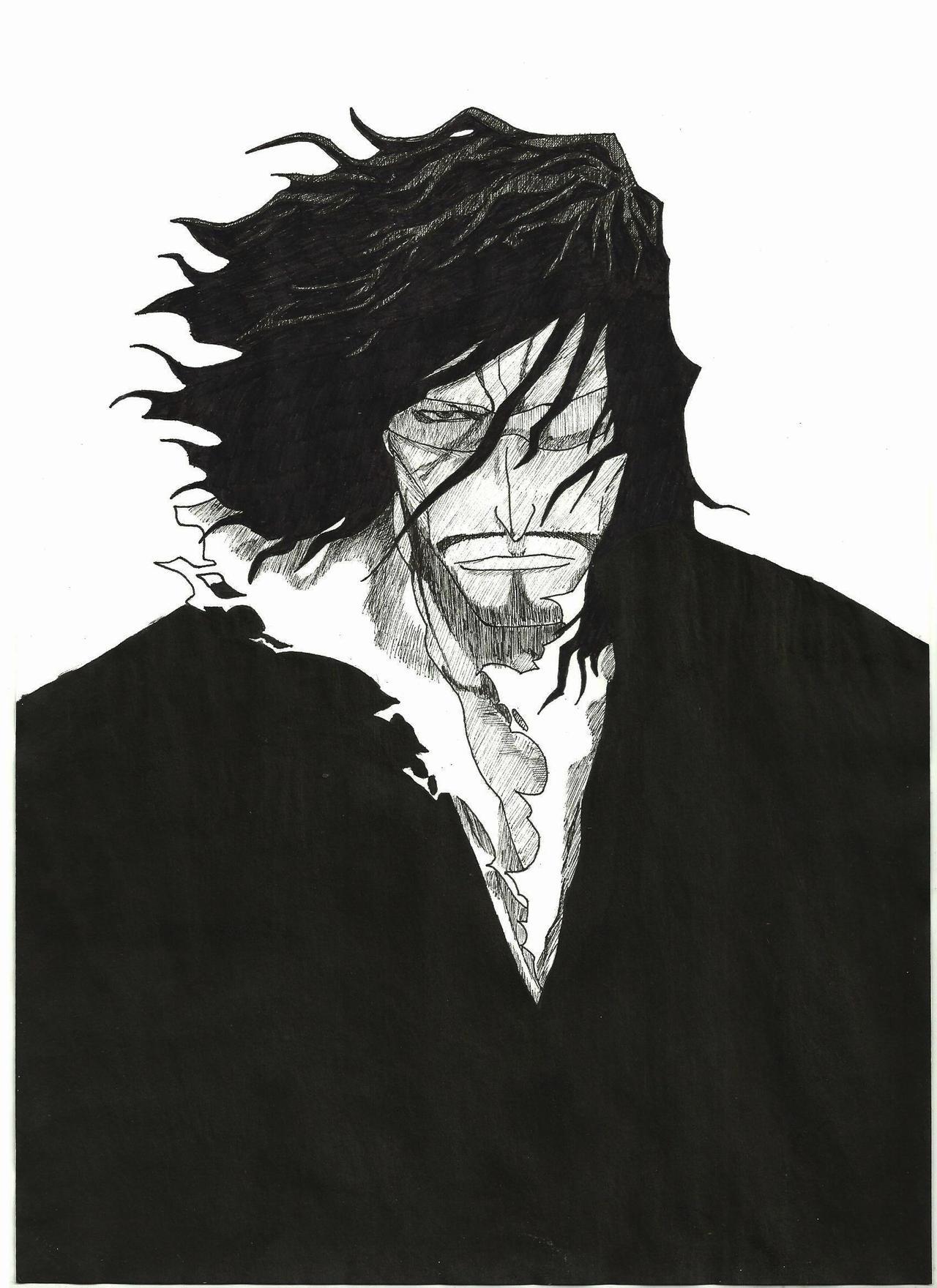 old anime manga: Old Man Zangetsu By CptMaximum9001 On DeviantArt