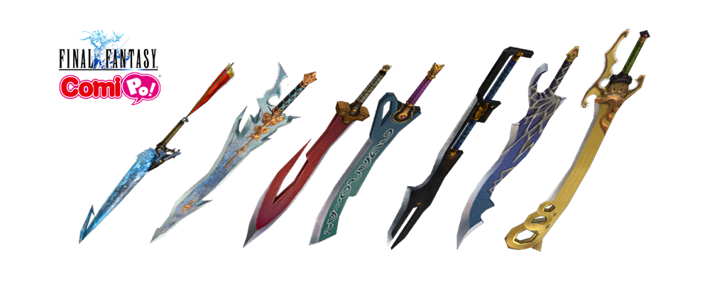 [ComiPo} Final Fantasy Swords [DL] by Lady-Manson on ...