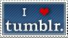 I LOVE TUMBLR by biirdd