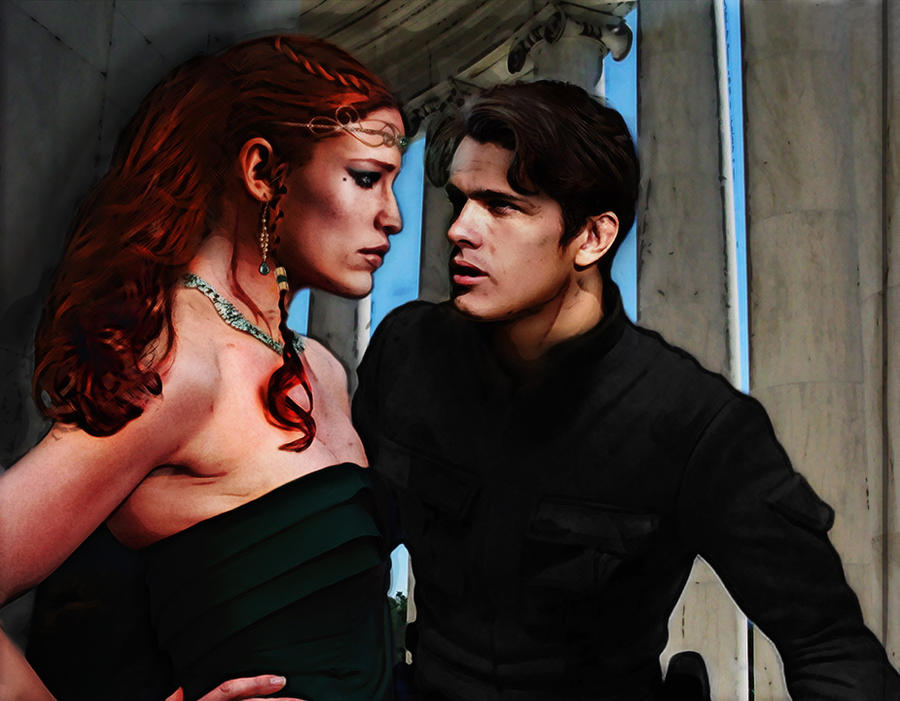 Lovers - Tenel Ka, Jacen Solo by saith100 on DeviantArt