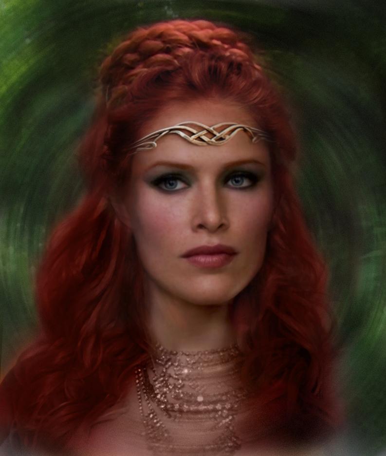 Jedi Queen Allana Djo by saith100