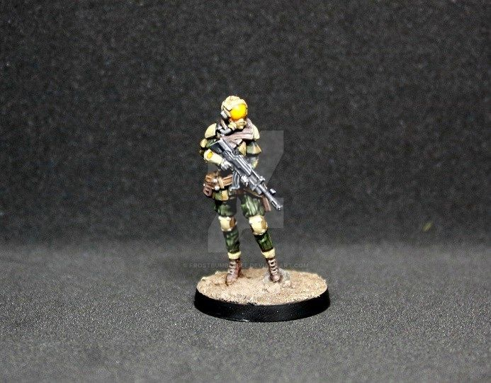 Brawlers, Mercenary Enforcers ( Infinity ) by frostbumblebee