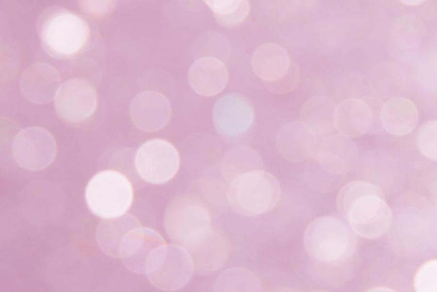 Pink bokeh texture