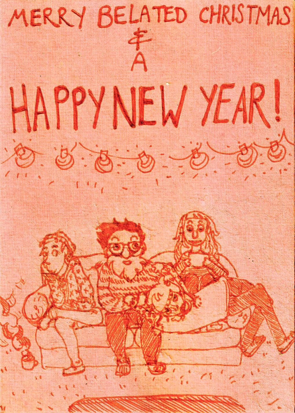January card (Best Day Ever) by phalene