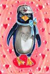 ACEO: Penguin