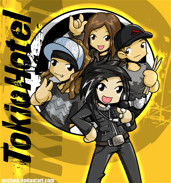 Tokio Hotel by desfunk