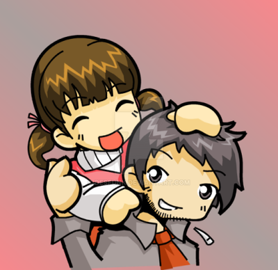 persona 4 golden nanako art homework