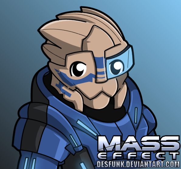 Mass Effect Garrus by desfunk