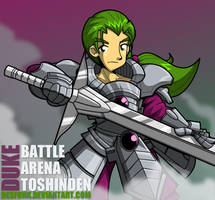 Battle Arena Toshinden - Duke B Rambert