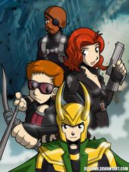 Avengers Assemble Group 2