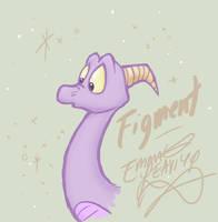 Figment OOOOOH!! by PlutoEmmaLoo