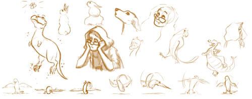 Doodles by PlutoEmmaLoo