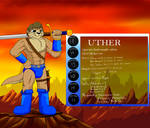 Uthers stats and reference sheet by Enricthepenguin92