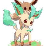 Eevee piggyback ride