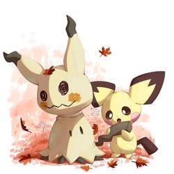 Mimikyu and Pichu