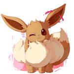 Fluffy eevee