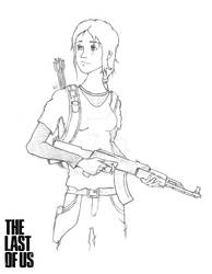 The Last of Us - Ellie [Grown Up] by Ventus08