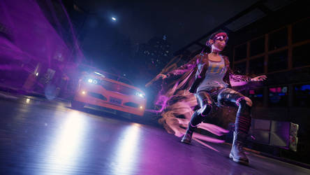 In a rush [ inFAMOUS First Light ]