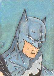 Batman Sketch Card 3 of 3 by wheels9696